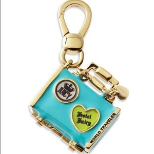 Juicy Couture Travel Suitcase Bag Locket Charm ✨
